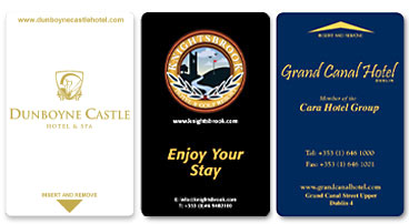 personalised key cards